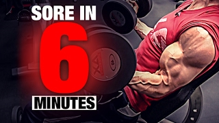 Bicep Workout (SORE IN 6 MINUTES!) 出處 ATHLEAN-X™
