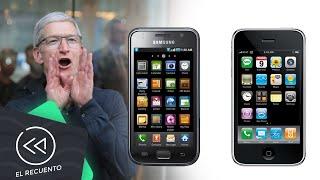 Samsung pagará 539 MDD a Apple por copiar al iPhone | El recuento