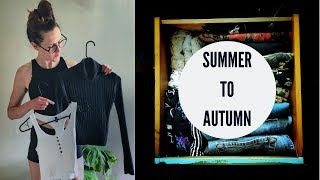 Switching Out Seasonal Clothing