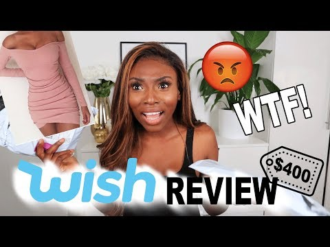 I SPENT $400 ON WISH APP…IS THIS WEBSITE A JOKE? WTF!