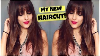 Haircut Tips For Long Hair- All About My New Haircut With Fringes & Long Layers Step By Step