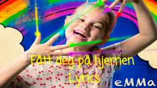 EMMa   Fått Deg På Hjernen Lyrics 💞