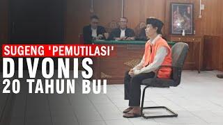 Kasus Mutilasi di Pasar Besar Kota Malang, Pelaku Divonis 20 Tahun Penjara