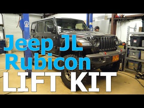 EP 004 – Jeep JL Lift Kit Installation