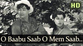 O Babu O Memsaab (HD) - Talaq Songs - Rajendra Kumar