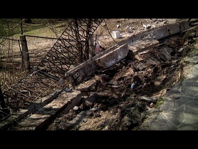 Жители Твери дождались ремонта обрушившейся набережной