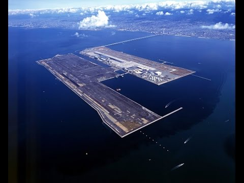 Как построили уникальный аэропорт Кансай в Японии - Документальный фильм