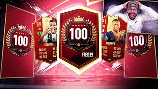 YES! AWESOME TOP 100 REWARDS! FIFA 19 Ultimate Team RTG