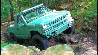 """I ENTERED MY $1500 ARMY BLAZER IN A JEEP ROCK CRAWL!!! They Said it Would Be """"IMPOSSIBLE..."""""""