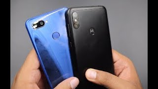 Motorola One Power vs Realme 2 Pro Camera, Display, performance Comparison | Hindi