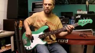 Freddie's Dead - Curtis Mayfield (Joseph Lucky Scott) bass cover