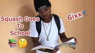 Squash Goes To School | @nitro__immortal