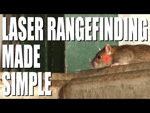 Laser range finding for airgunners