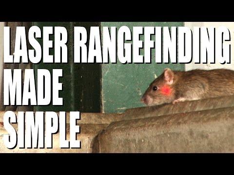 Laser range finding for airgunners