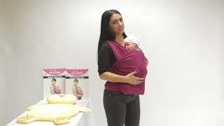 SEVI BEBE / Bebek Taşıma Şalı Farklı Kullanım