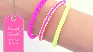 DIY Friendship Bracelets ( EASY)