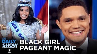 Black Women in Pageants, a Penis Fish Invasion & White Power at a Football Game | The Daily Show