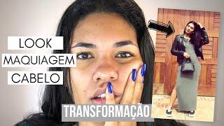 Transforme-se comigo (make, look e cabelo para o dia-a-dia)