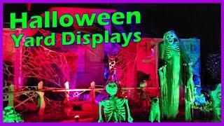 Outdoor Halloween Decorations Ideas - Yard Displays, Home Haunts, & Trick-or-Treating
