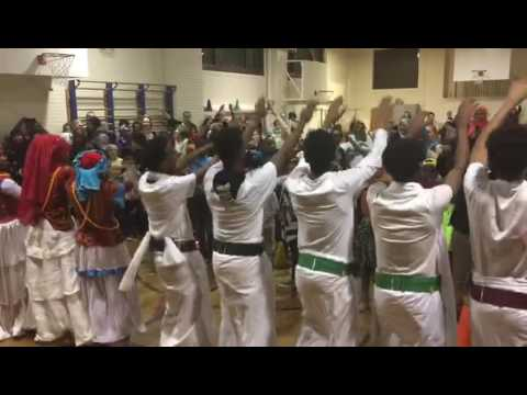 Somali Museum Dance Troupe at Pratt Elementary.