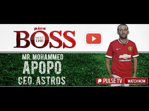 Meet The Boss Ep.1: Mohammed Apopo, C.E.O - Astros