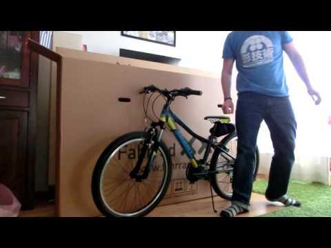 Fahrrad XXL Unboxing - Giant XtC JR. 24