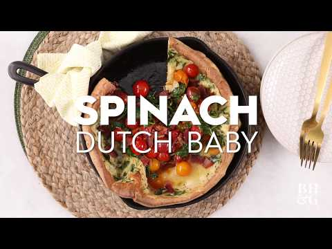 Spinach Dutch Baby | Fast & Fresh | Better Homes & Gardens