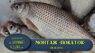 Зимния рыбалка в дельте волги