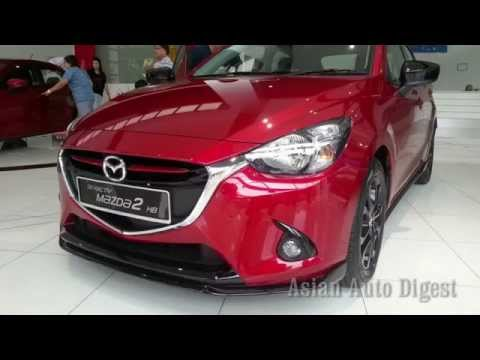 The New 2015 Mazda 2 Sedan