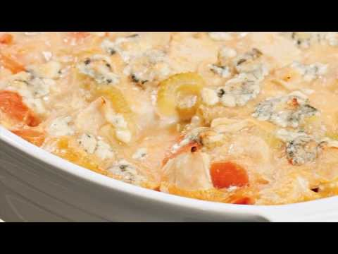 Video Healthy Recipes Buffalo Chicken Casserole