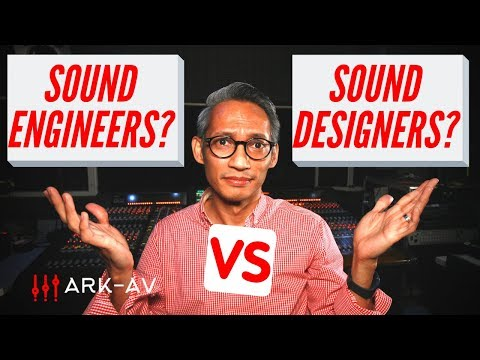 Difference Between Sound Engineer vs Sound Designer - The Production Team