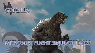 Mayday crash Godzilla MSFS2020 - showcase