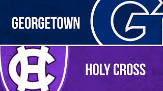 PLN Classic: Football, Georgetown at Holy Cross (Nov. 23, 2019)