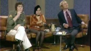 John Lennon and Yoko Ono Dick Cavett Show  Excerpt 5 of 6