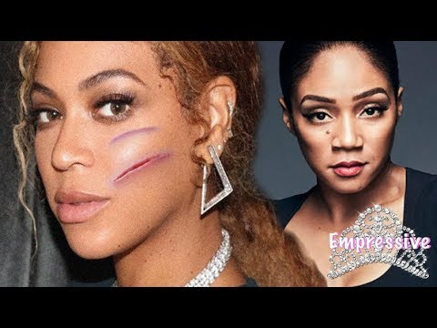 Beyonce got bit on the face by an actress!   Tiffany Haddish spills more tea