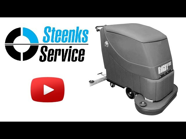 YouTube video | Floor scrubber Stefix 800B