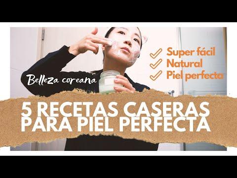 5 RECETAS CASERAS PARA PIEL PERFECTA ¡Rutina facial coreana! | Ana la Coreana