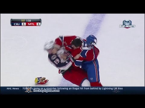 Max Pacioretty vs. Ryan Johansen