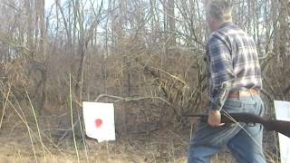 Rifled choke, effect on #6 shot dispersal at 19 feet