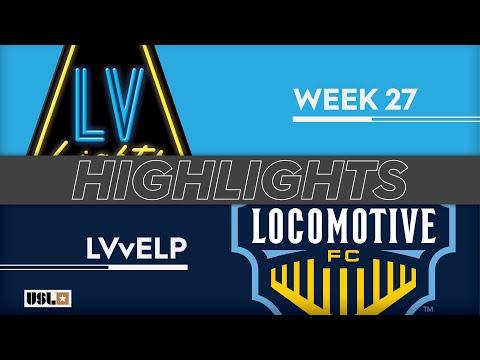 Las Vegas Lights - El Paso 0:3. Видеообзор матча 08.09.2019. Видео голов и опасных моментов игры