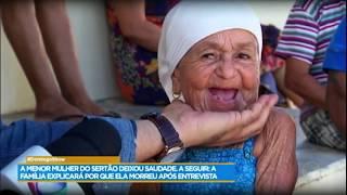 Domingo Show presta homenagem à Maria das Piabas