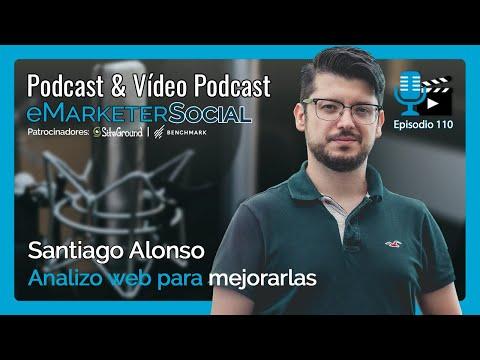 Santiago Alonso experto desarrollador web e implementador RGPD   Episodio 110 eMarketerSocial