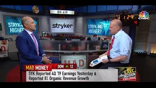 Stryker's Chairman and CEO, Kevin Lobo, on CNBC's Mad Money