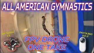 Gymnastics FPV Drone One Take - Beta95x V3 Insta360 Go2