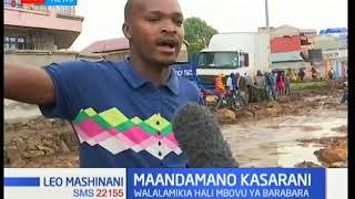 Wakazi wa Kasarani  wafanya maandamano wakilalamikia hali mbovu ya barabara