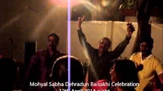 preview picture of video 'Baisakhi Celebration Mohyal Sabha Dehradun 2014'