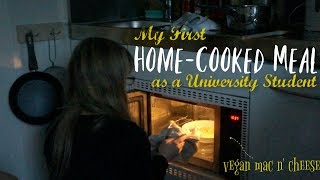 Making my first Home Cooked Meal as a First Year University Student