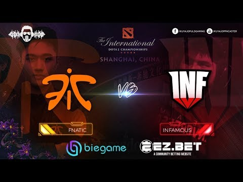 Fnatic vs Infamous  | Best of 2 | Group Stage | The International 9