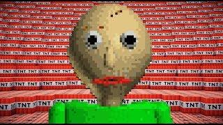 100,000 TNT VS BALDI | Minecraft