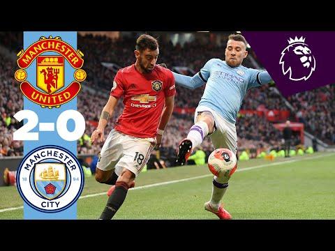 Манчестер Юнайтед - Манчестер Сити 2:0. Видеообзор матча 08.03.2020. Видео голов и опасных моментов игры